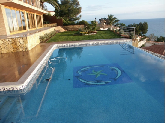 Picture of Villa with panoramic sea views in urbanization with its own beach