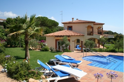 Bild von Villa La Rosella for rent, S'Agaró, Costa Brava, Spain